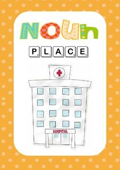 Nouns, Verbs, Adjectives Pack
