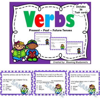 Grammar-Nouns-Subject and Predicate-Verbs-Adjectives-Pronouns-BUNDLE