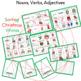 Nouns, Verbs, Adjectives Sorting Christmas Words