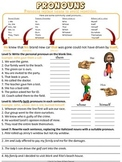 Nouns, Verbs, & Adjectives Worksheets & Quizzes