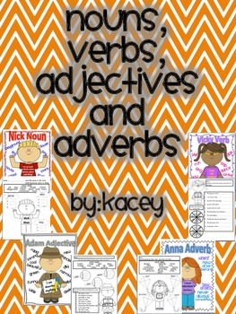 Nouns, Verbs, Adjectives and Adverbs