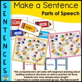 Parts of Speech Activities Building and Editing Sentences