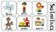Nouns Verbs & Adjectives sort English & Spanish