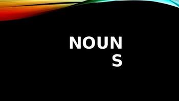 Nouns, Verbs, Pronouns
