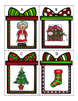 Nouns, Verbs, and Adjectives: Christmas Themed Activities (K-2)