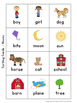 Nouns, Verbs and Adjectives - Posters and Sorting Activities  {Ideal for ELL}
