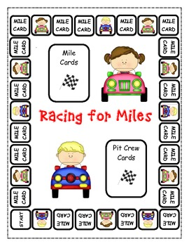 Nouns, Verbs, and Adjectives:  Racing for Miles