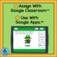 Nouns, Verbs and Adjectives St. Patrick's Theme for Google Classroom™