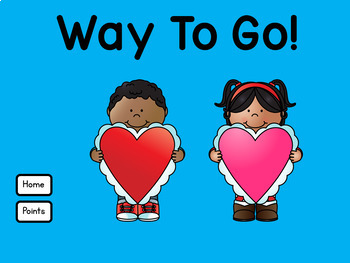 Nouns Verbs and Adjectives Valentine's Day use with Google Classroom™