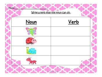 Nouns, Verbs and Adjectives....Oh, My!