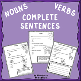 Nouns, Verbs, and Complete Sentences