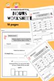 Nouns Worksheet (Kindergarten)