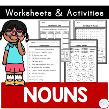 Nouns - Worksheets