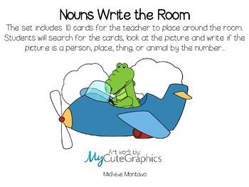 Nouns Write the Room