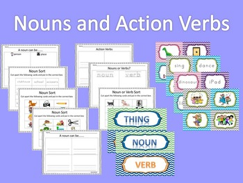 Nouns and Action Verbs