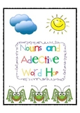 Nouns and Adjective Word Hop!