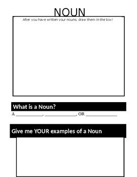 Nouns and Adjectives!