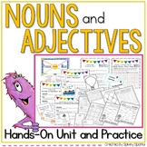Nouns and Adjectives Unit and Worksheets
