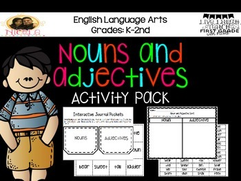 Nouns and Adjectives Activity Pack