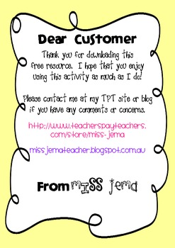 Nouns and Adjectives Activity with Australian Spelling