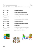 Nouns and Definitions