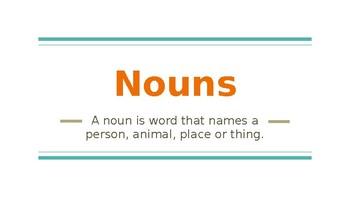 Nouns and Exact Nouns