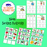 Nouns and Not Nouns Sorting Activity