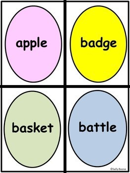 Nouns and Pronouns Literacy Center - Easter Theme