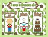 Nouns and Pronouns Unit
