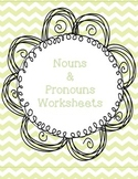 Nouns and Pronouns Worksheet