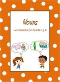 Nouns,  Common Nouns & Proper Nouns Worksheets for Grade 1 & 2