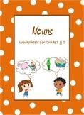 Nouns,  Common Nouns & Proper Nouns Worksheets for Grade 1