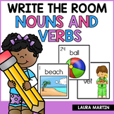 Nouns and Verbs-Write the Room