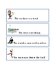 Nouns and Verbs Action Words Critical Thinking Literacy Comprehension English 2p