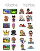 Nouns and Verbs Activity Pack