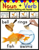 NOUNS and VERBS  Building Sentences with Pictures for Autism and Language ELL