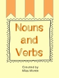 Nouns and Verbs Cut and Paste