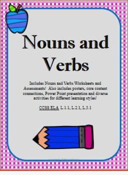 Nouns and Verbs Lesson Plan