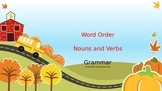 Nouns and Verbs PowerPoint