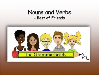 Nouns and Verbs Slideshow - PowerPoint Lesson