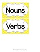 Nouns and Verbs Sort {Freebie!}