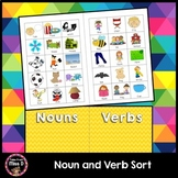Noun Verb Sort
