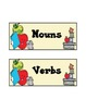 Nouns and Verbs Sort [Center Activity]