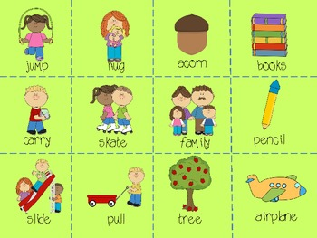Nouns and Verbs Sorting