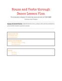 Nouns and Verbs through Dance Lesson Plan