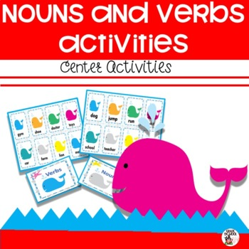 Nouns and Verbs Center Activity