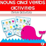Nouns and Verbs activities