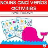 Nouns and Verbs Center Activity