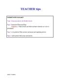 Spanish -- Nouns and articles for Middle School / Los sustantivos y artículos
