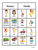 Nouns and verbs sort bilingual